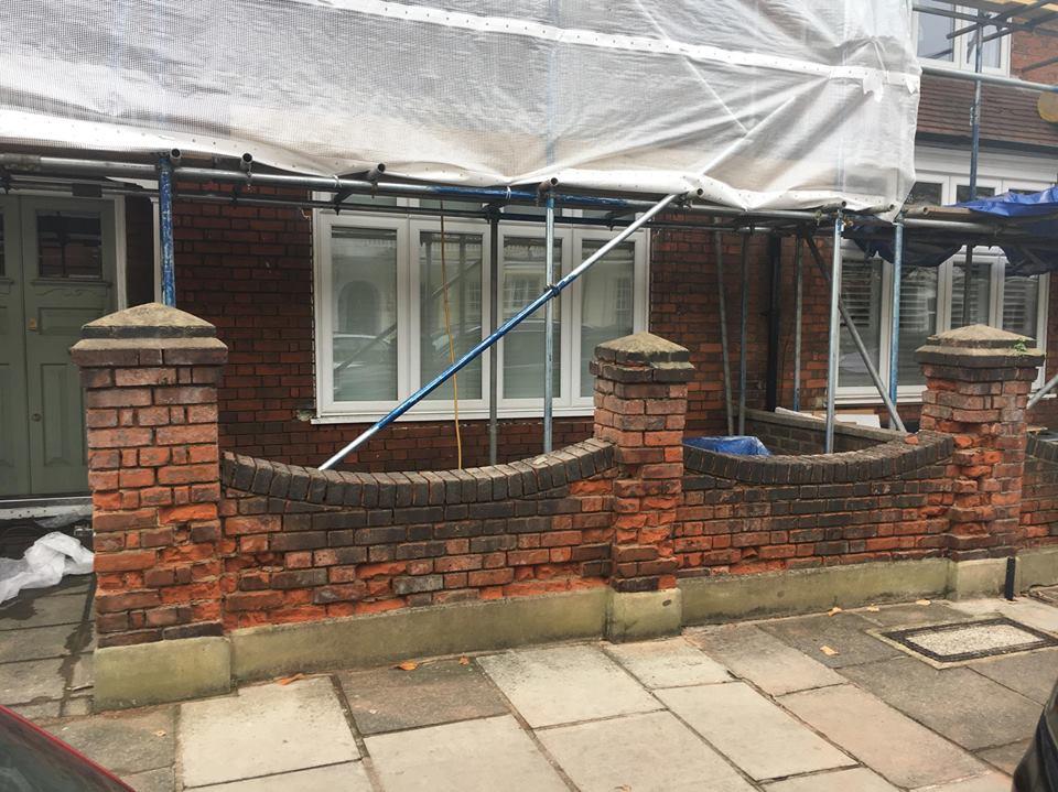 Brick Repair London BEFORE
