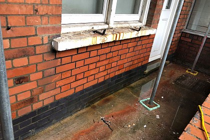 Brick Surface Cleaning London After