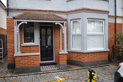 Repointing London Before