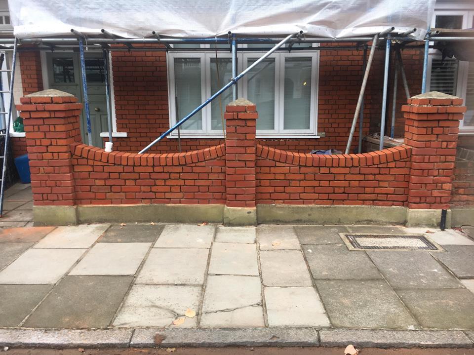 Brick Repair London AFTER