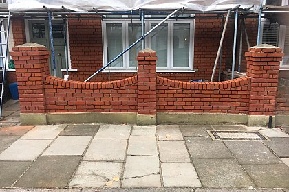Brick Repair London AFTER
