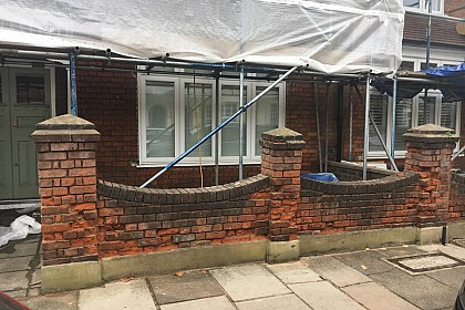 Brick Repair London BEFORE